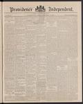 Providence Independent, V. 12, Thursday, December 23, 1886, [Whole Number: 601] by Providence Independent