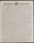 Providence Independent, V. 12, Thursday, March 24, 1887, [Whole Number: 614] by Providence Independent