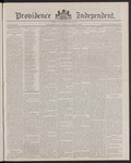 Providence Independent, V. 12, Thursday, June 2, 1887, [Whole Number: 624] by Providence Independent