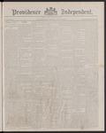 Providence Independent, V. 13, Thursday, June 9, 1887, [Whole Number: 625]