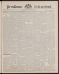 Providence Independent, V. 13, Thursday, July 7, 1887, [Whole Number: 629] by Providence Independent