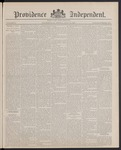 Providence Independent, V. 13, Thursday, July 14, 1887, [Whole Number: 630] by Providence Independent