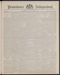 Providence Independent, V. 13, Thursday, August 4, 1887, [Whole Number: 633]