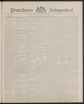 Providence Independent, V. 13, Thursday, August 11, 1887, [Whole Number: 634]