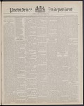Providence Independent, V. 13, Thursday, August 18, 1887, [Whole Number: 635]