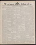 Providence Independent, V. 13, Thursday, September 15, 1887, [Whole Number: 639] by Providence Independent