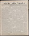 Providence Independent, V. 13, Thursday, September 22, 1887, [Whole Number: 640] by Providence Independent