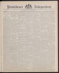 Providence Independent, V. 13, Thursday, October 6, 1887, [Whole Number: 642]
