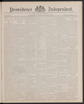 Providence Independent, V. 13, Thursday, October 13, 1887, [Whole Number: 643] by Providence Independent