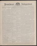 Providence Independent, V. 13, Thursday, October 20, 1887, [Whole Number: 644]