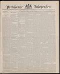 Providence Independent, V. 13, Thursday, November 3, 1887, [Whole Number: 645]