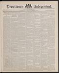 Providence Independent, V. 13, Thursday, November 10, 1887, [Whole Number: 646] by Providence Independent