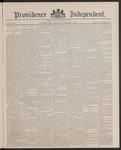 Providence Independent, V. 13, Thursday, November 17, 1887, [Whole Number: 647] by Providence Independent