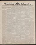 Providence Independent, V. 13, Thursday, November 24, 1887, [Whole Number: 648] by Providence Independent