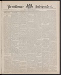 Providence Independent, V. 13, Thursday, December 15, 1887, [Whole Number: 651] by Providence Independent