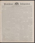 Providence Independent, V. 13, Thursday, December 22, 1887, [Whole Number: 652]