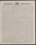 Providence Independent, V. 13, Thursday, January 5, 1888, [Whole Number: 654] by Providence Independent