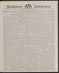 Providence Independent, V. 13, Thursday, January 19, 1888, [Whole Number: 656]