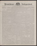 Providence Independent, V. 13, Thursday, February 2, 1888, [Whole Number: 658] by Providence Independent