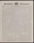 Providence Independent, V. 13, Thursday, February 2, 1888, [Whole Number: 658]