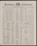 Providence Independent, V. 13, Thursday, February 16, 1888, [Whole Number: 660]