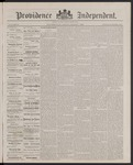 Providence Independent, V. 13, Thursday, March 1, 1888, [Whole Number: 662]