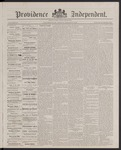 Providence Independent, V. 13, Thursday, March 8, 1888, [Whole Number: 663]