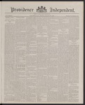 Providence Independent, V. 13, Thursday, March 29, 1888, [Whole Number: 666]