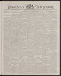 Providence Independent, V. 13, Thursday, April 5, 1888, [Whole Number: 667]