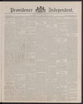 Providence Independent, V. 13, Thursday, May 10, 1888, [Whole Number: 672]