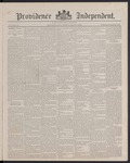 Providence Independent, V. 13, Thursday, May 17, 1888, [Whole Number: 673]