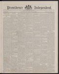 Providence Independent, V. 13, Thursday, May 31, 1888, [Whole Number: 675] by Providence Independent