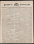 Providence Independent, V. 14, Thursday, October 11, 1888, [Whole Number: 694] by Providence Independent