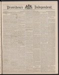 Providence Independent, V. 14, Thursday, November 1, 1888, [Whole Number: 697] by Providence Independent