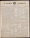 Providence Independent, V. 14, Thursday, November 29, 1888, [Whole Number: 701] by Providence Independent