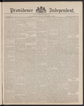 Providence Independent, V. 14, Thursday, December 13, 1888, [Whole Number: 703] by Providence Independent