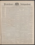 Providence Independent, V. 14, Thursday, January 3, 1889, [Whole Number: 706] by Providence Independent