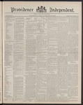 Providence Independent, V. 14, Thursday, February 28, 1889, [Whole Number: 714]