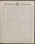 Providence Independent, V. 14, Thursday, March 21, 1889, [Whole Number: 717]