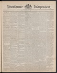 Providence Independent, V. 14, Thursday, April 11, 1889, [Whole Number: 720] by Providence Independent