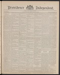 Providence Independent, V. 14, Thursday, May 23, 1889, [Whole Number: 726] by Providence Independent