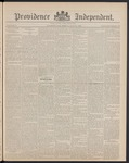 Providence Independent, V. 14, Thursday, May 30, 1889, [Whole Number: 727] by Providence Independent