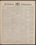 Providence Independent, V. 15, Thursday, August 1, 1889, [Whole Number: 736] by Providence Independent