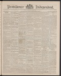 Providence Independent, V. 15, Thursday, September 19, 1889, [Whole Number: 743] by Providence Independent