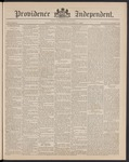 Providence Independent, V. 15, Thursday, October 17, 1889, [Whole Number: 747] by Providence Independent