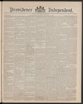 Providence Independent, V. 15, Thursday, October 31, 1889, [Whole Number: 749] by Providence Independent