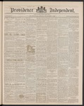 Providence Independent, V. 15, Thursday, November 7, 1889, [Whole Number: 750] by Providence Independent