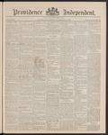 Providence Independent, V. 15, Thursday, November 21, 1889, [Whole Number: 752] by Providence Independent