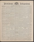 Providence Independent, V. 15, Thursday, November 28, 1889, [Whole Number: 753] by Providence Independent