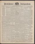 Providence Independent, V. 15, Thursday, January 30, 1890, [Whole Number: 763]